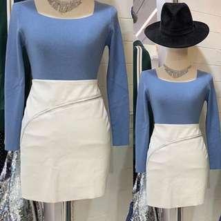 White skirt size S