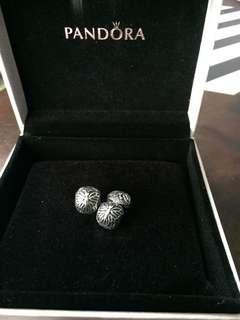 Pandora Charm - Butterfly clips