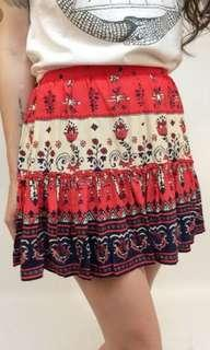 PRICE DROP!!! Spell and the Gypsy design Desert Wanderer Mini skirt in Sunset 8