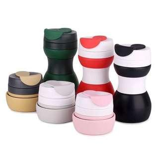 Collapsible coffe cup/tumbler