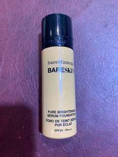 Pure brightening serum foundation