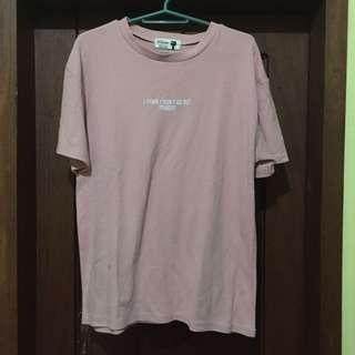 [REPRICED] Baby Pink T-Shirt