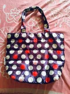 Preloved Washable Polkadots Bag