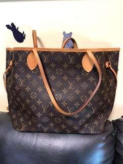 LV Neverfull MM Louis Vuitton 奶粉袋