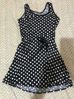 Casual polka dress