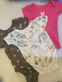Baby Girl Onsies bundle