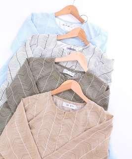 🚚 ESHA DOLL TOP blouse peplum tunic tunik baju labuh instant eesha duck instant