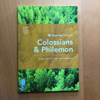 Colossians and Philemon Christian 30-Day Devotions