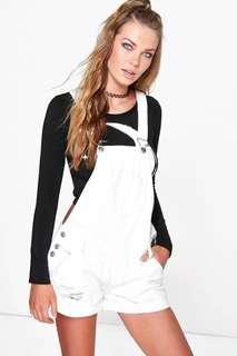 factorie white dungaree
