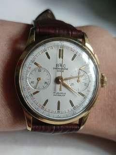 Vintage Gold Chronograph watch