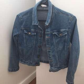 CROPPED DENIM JACKET - ROLLAS