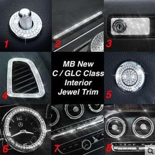 Mercedes Benz New C / GLC Class Interior Jewel Trims