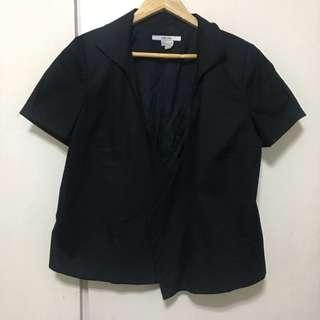 X-large Zara short sleeve blazer top