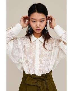 LOOKING FOR ZARA JACQUARD TOP