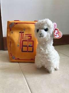 Clearance-$4.50!!  TY Toy Alpaca Lily
