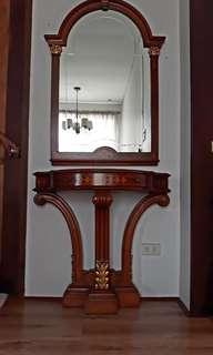 Italian Mirror and Drawer Set