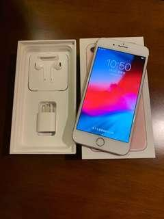🚚 Apple 🍎 iPhone 7plus 128G Rose Gold Pink