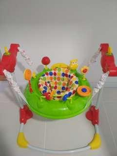 Jumperoo and fisher price baby play gym