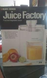 Black & decker juicer machine