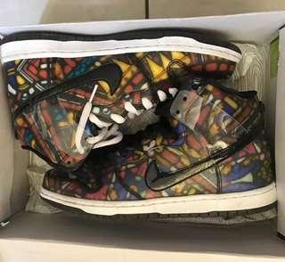 """Nike SB Dunk High x Concepts """"Stained Glass"""" Holy Grail Pack"""