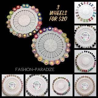 Hijab Pin Wheel