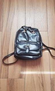 Black Parisian Backpack