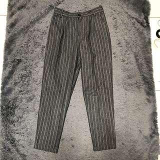STRIPE GREY PANTS