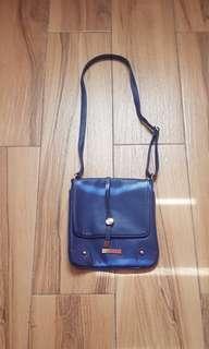 Blue Crossbody Bag