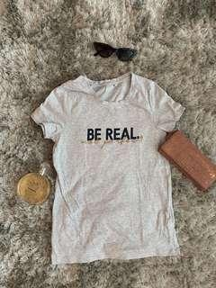Be real not perfect gray tops