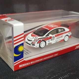 Inno 64 Honda Civic type R FD2 Malaysia special edition