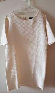 Dress Zalora Broken White