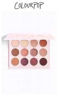 Give it to me straight eyeshadow palette
