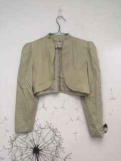 Crop blazer