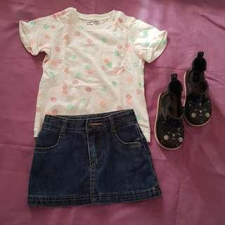 OOTD Mini Skirt Outfit