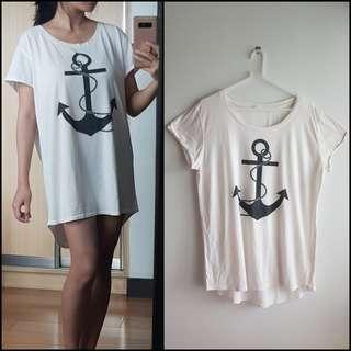 Sailor Loose Shirt