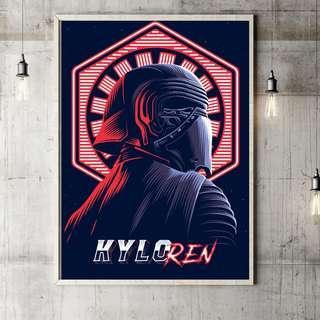 #MFEB20 Star Wars Kylo Ren - poster