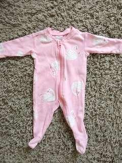 Baby Girl Sleepsuit (Newborn)
