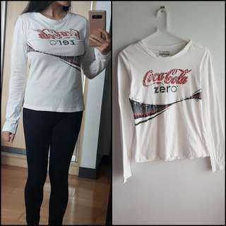 VINTAGE - Coca Cola Long Sleeve
