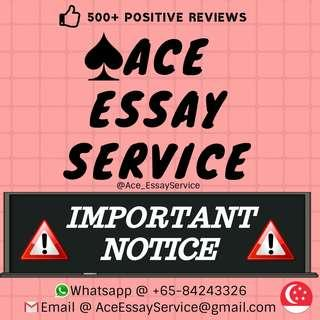 Attention ⛔⛔⛔                                                Assignment Essay