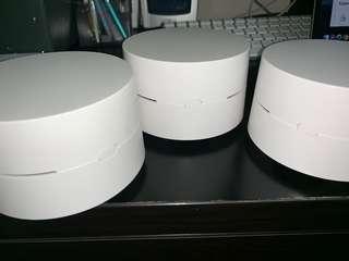 🚚 Google wifi set of 3
