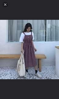 LOOKING FOR Checkered Dress