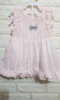 Baby ruffled dress (6-12M)