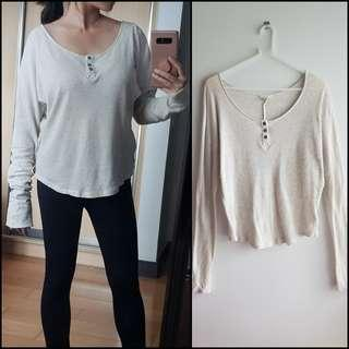Loose Knitted Korean Long Sleeves