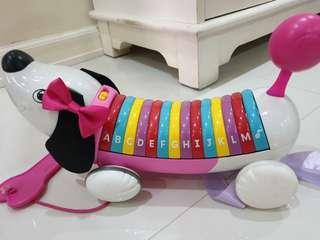 Alphabet dog