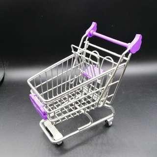 🚚 【sigmanet家庭百貨】九成新奇摩購物中心小型擺飾推車可放置小東西