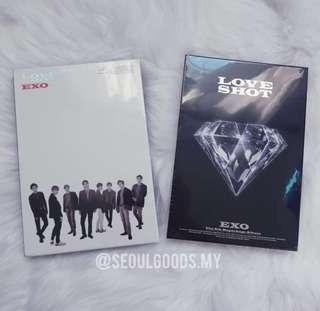 EXO Repackage Album Vol.5 [LOVE SHOT] (SHOT Ver.)