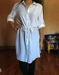 White dress-top