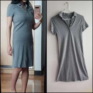 ORIGINAL - Collared Dress Grey