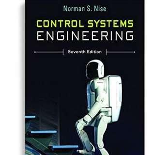 🚚 ME2142 CONTROL SYSTEMS ENGINEERING 7th ed Norman S. Nise