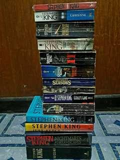 Stephen King Collection 🖤